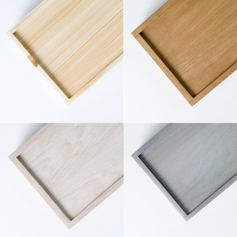 Dostępne kolory drewna