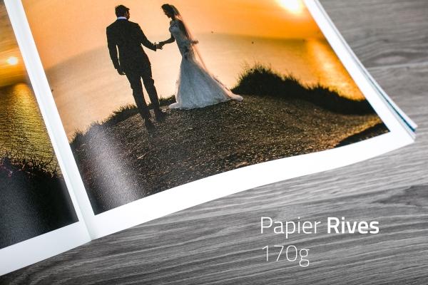 Matowy, niepowlekany, archiwalny papier Rives
